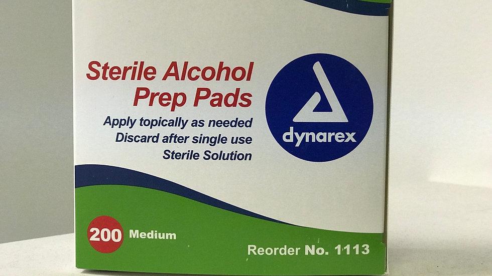 Alcohol Prep pads 200cnt