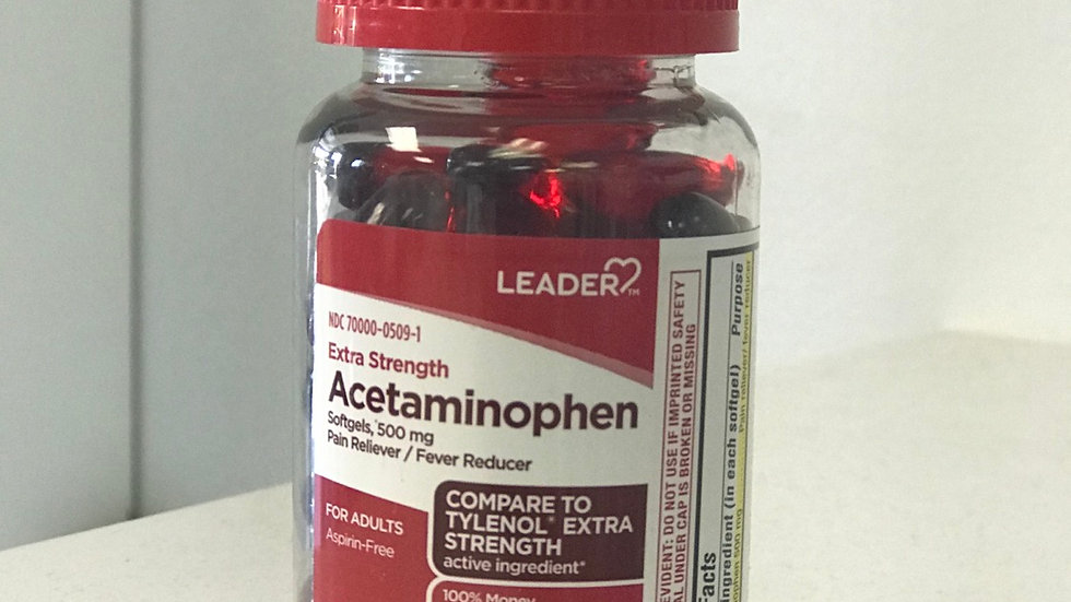Ldr Acetaminophen Extra Strength 500mg Softgels 40cnt
