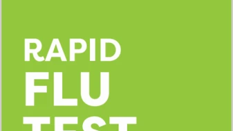 Rapid at home Flu test & Consult kit