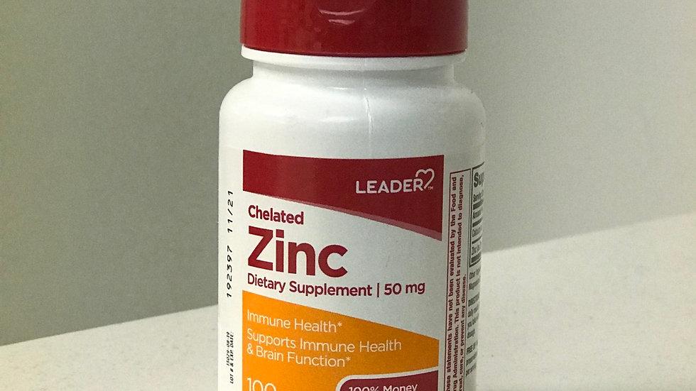 Cheated Zinc 50mg tabs 100cnt