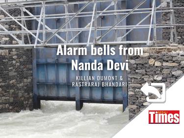 Alarm Bells from Nanda Devi