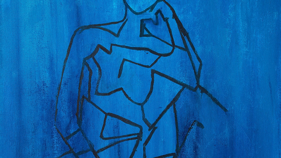 Blue into Pieces