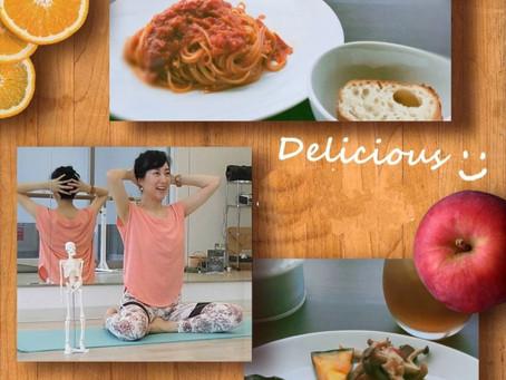 身体と食事の関係