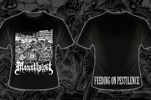 Feeding on Pestilence Tee