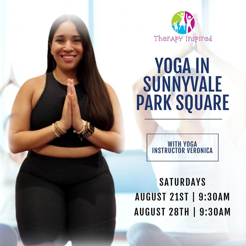 Yoga in Sunnyvale Park Square