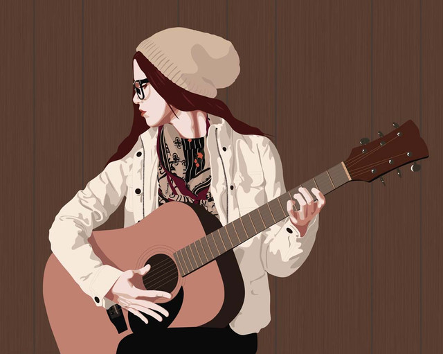 Hipster with a Guitar.jpg