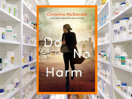 "Do No Harm - a tense thriller that begs the question, ""does the end justify the means?"""