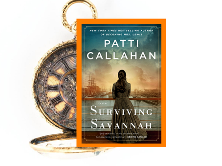 Surviving Savannah - a steamship disaster inspired this engrossing book about the will to survive.
