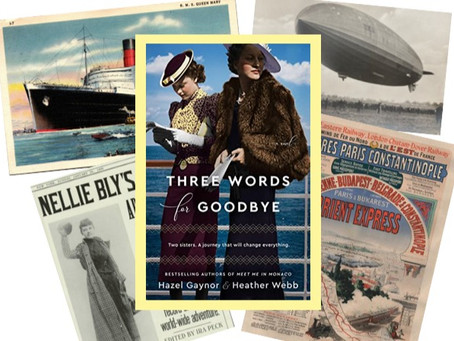 Three Words for Goodbye - appealing historical novel of a journey to deliver 3 letters of farewell.