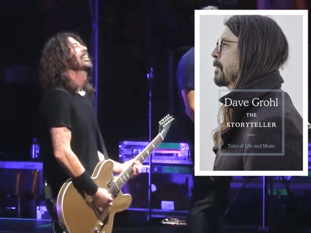 The Storyteller - Dave Grohl's life as a rocker and much more.