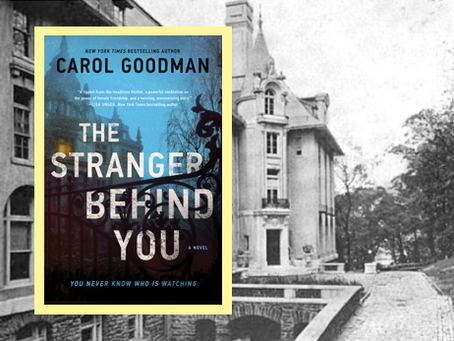 The Stranger Behind You - a journalist fears for her life in this gothic-style thriller.