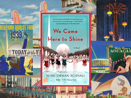 We Came Here to Shine - an enjoyable trip back in time with two women you'll be rooting for.