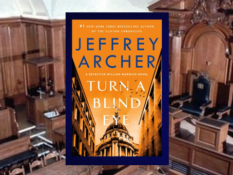 Turn a Blind Eye - Book #3 is another excellent installment in the Detective William Warwick series.