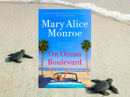 On Ocean Boulevard - heartwarming continuation of the lovely Beach House series. And saving turtles.