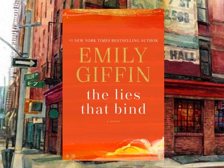 The Lies That Bind - a new romance, a tragic day, lots of deceit.
