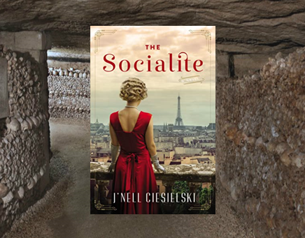 The Socialite - a WWII novel filled with intrigue and romance.