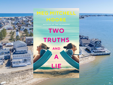 Two Truths and a Lie - an entertaining, fast-paced beach read.