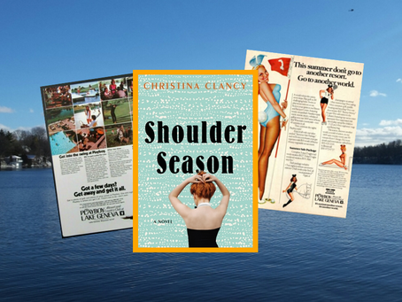 Shoulder Season - a coming-of-age story set in the 1980s at a Wisconsin Playboy resort.