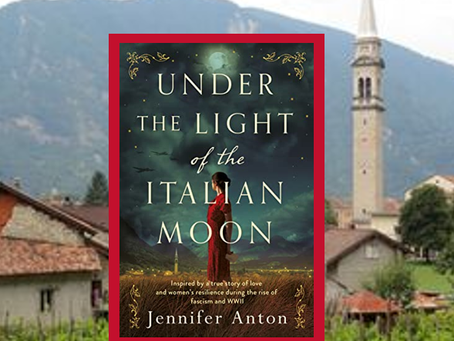 Under the Light of the Italian Moon - a story of love, family and survival.