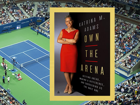 Own the Arena - experiences of a woman who is making a difference.
