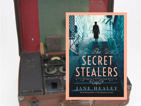 The Secret Stealers - a remarkable story of friendship and the bravery of women spies during WWII.