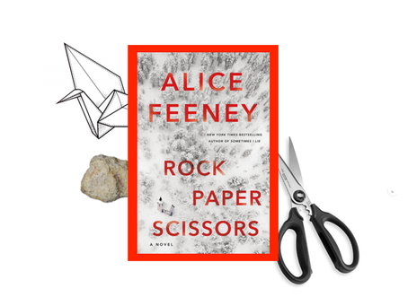 Rock Paper Scissors - a couple's relationship unravels in this suspenseful, twisty book.