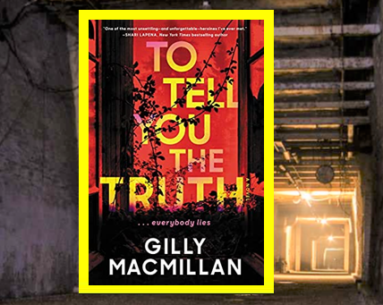 To Tell You the Truth - a twisty thriller with an unreliable narrator.