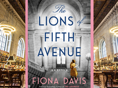 The Lions of Fifth Avenue - historical fiction at its best, set in a NYC landmark.