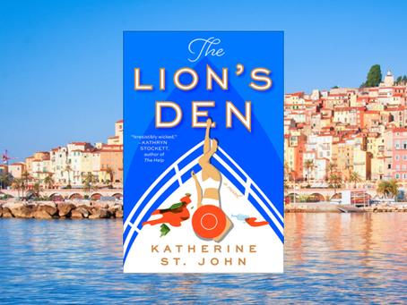The Lion's Den - a huge yacht, the Mediterranean, secrets, betrayal. A perfect binge read.