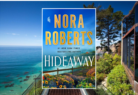 Hideaway - enjoy Nora Roberts' latest. A family drama filled with suspense, vengeance and romance.