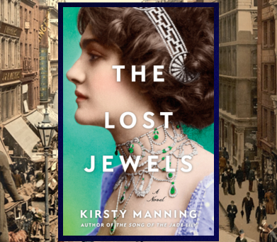 The Lost Jewels - captivating historical fiction about the mystery of hidden gems.