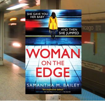 Woman On The Edge - this twisty, fast-paced thriller will keep you on the edge of your seat.