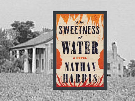 The Sweetness of Water - an unforgettable post-Civil War story and a remarkable debut by its author.
