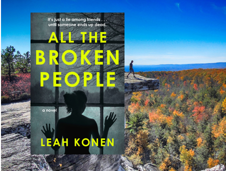All the Broken People - an excellent thriller. Twisty and tense.