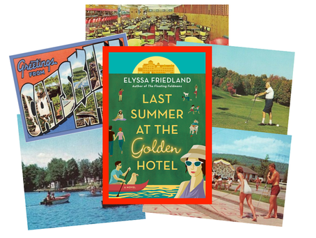 Last Summer at the Golden Hotel: two families decide the fate of their once grand Catskills resort.