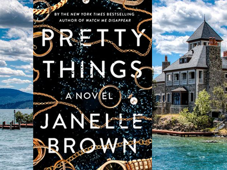 Pretty Things - an enjoyable, twisty thriller.