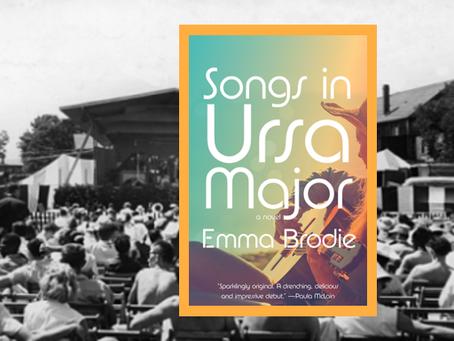 Songs in Ursa Major – the early 70s music scene comes alive in this impressive debut novel.