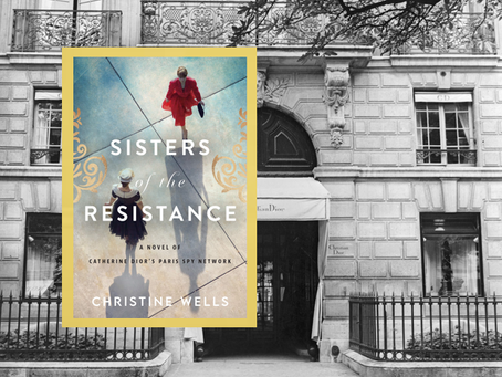 Sisters of the Resistance – an engaging WWII story filled with intrigue, romance and haute couture.