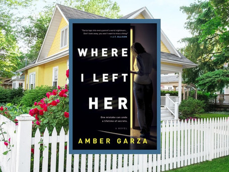 Where I Left Her – a tense thriller where a daughter goes on a sleepover and disappears.