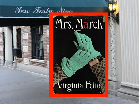 Mrs. March - a Manhattan wife unravels in this tense thriller.