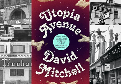 Utopia Avenue - a trip back to the swinging 60s with a unique rock band.