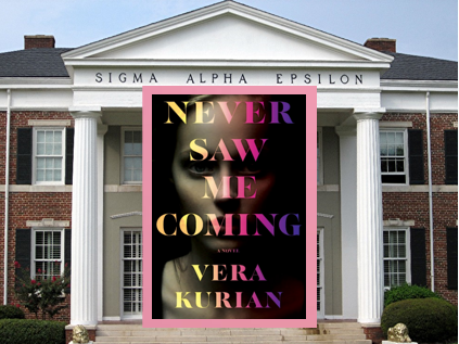 """Never Saw Me Coming – a unique entry in the """"dark academia"""" thriller genre."""
