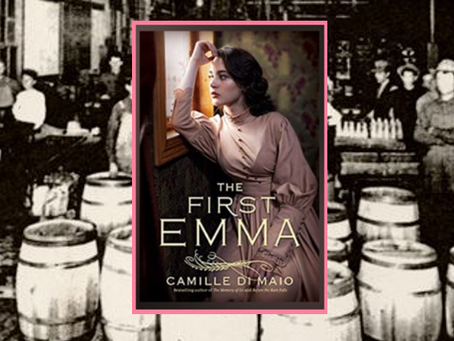The First Emma - a strong woman overcomes illness and the murder of her husband to succeed.