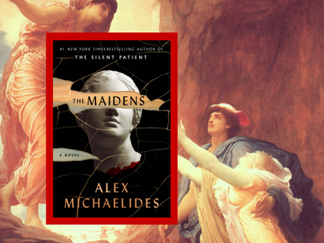 The Maidens - an atmospheric murder mystery set at Cambridge.