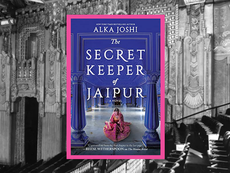The Secret Keeper of Jaipur - Book #2 of The Henna Artist series is another gem.