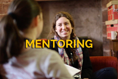 Monthly 1-2-1 mentoring – a space for bespoke discipleship facilitated by a trained team member that meets the needs of each young person.