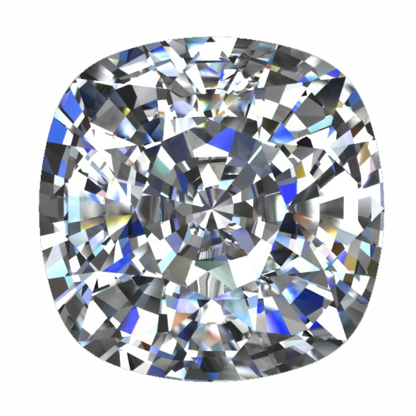 Square Cushion Cut Diamond