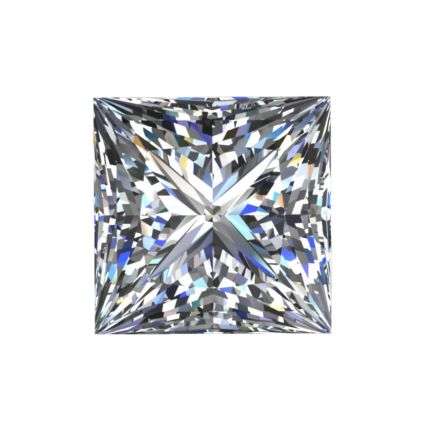 Square Princess Cut Diamond