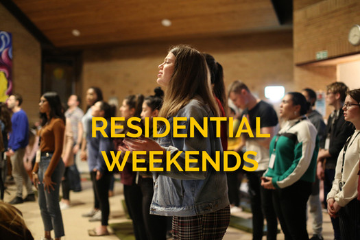 Three weekend retreats a year – designed to be mountain top experiences where the young people can encounter Jesus and be envisioned for their next steps in journeying with Him.