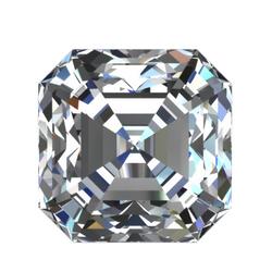 Square Emerald Cut Diamond